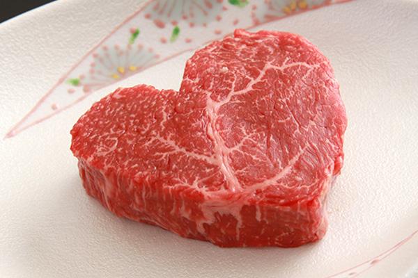 [バレンタイン限定50個] 松阪牛ハートステーキ 大