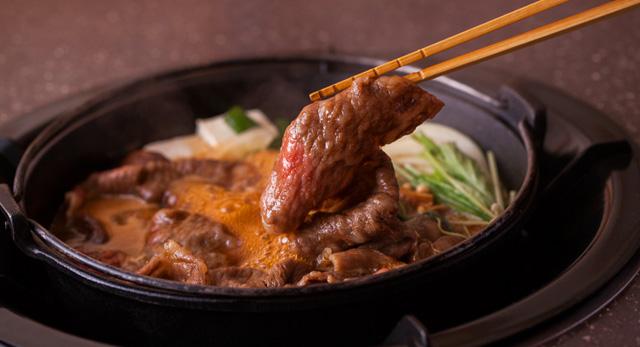 おいしく松阪牛のすき焼きをつくるポイント