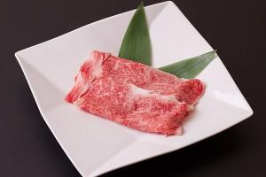 A5等級松阪牛ロースすき焼